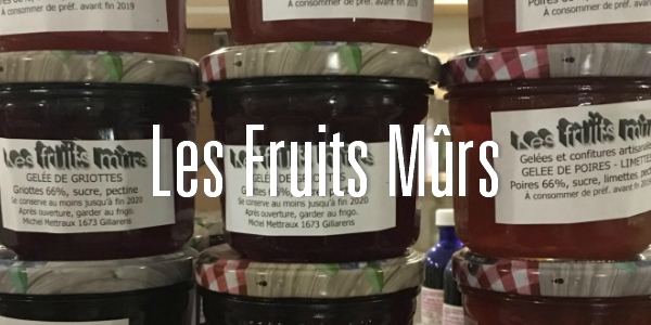 fruits murs