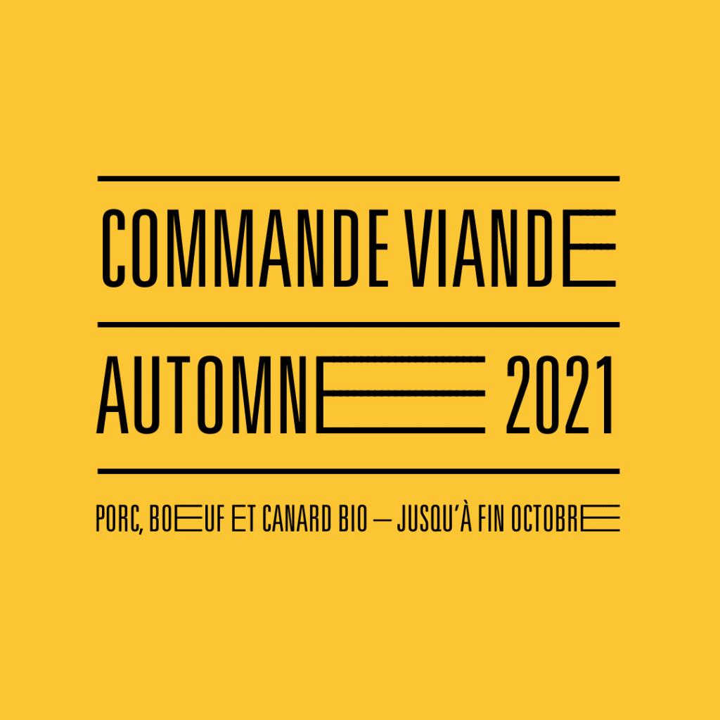 Viande Automne 2021
